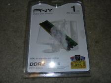 open PNY 1GB Dual Channel DDR2 667 MHz PC2-5300 Desktop Dimm RAM Memory