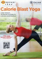Yoga EXERCISE DVD - CALORIE BLAST YOGA 3 workouts!