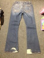 Aeropostale Jeans Hailey Skinny Flare Curvy Size 1/2 Short