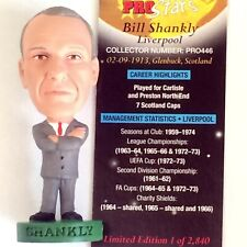 SHANKLY Liverpool Manager Corinthian Prostar World Club Legend Loose/Card PRO446