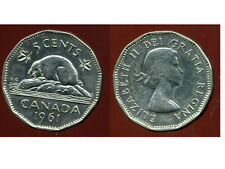 CANADA 5 cents  1961   ANM  ( bis )