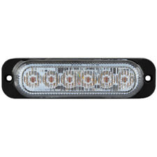 Durite  Amber Flashing Strobe High Intensity 6 LED Warning Light Lamp R65 12/24v