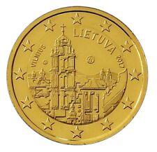 ++ 2 Euro - Litauen 2015 - 2017 - 24 Karat vergoldet - verschiedene Varianten ++