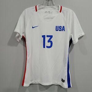 2016 Nike USWNT USA Olympic World Cup Alex Morgan 13 Soccer Jersey Womens M