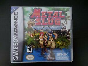 Nintendo Gameboy Advance Metal Slug Genuine Cart