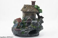 "Big 6"" Resin House Ruin Decoration/Ornament For Aquarium (SHIP FROM USA)"