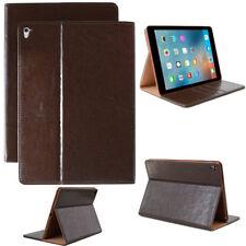Luxury Leder Schutz Hülle für Apple iPad 2 3 4 Tablet Tasche Cover Case braun