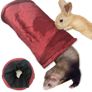 Winter Foldable Pet Rabbit Ferret Guinea Pig Tunnel Small Animals Training Toys