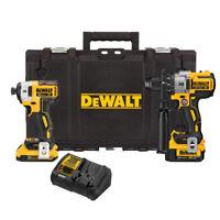 DEWALT 20V MAX XR 2-Tool Combo Kit DCKTS291D1M1R Certified Refurbished
