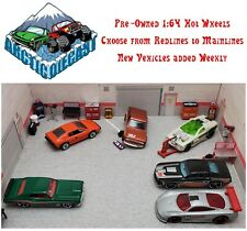 Hot Wheels Loose Pre-Owned 1:64 Cars Trucks - 24 Variations Updated 2/6/2021