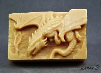DRAGON SILICONE SOAP MOLD resin clay wax plaster MOULD  game of thrones