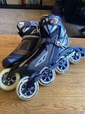 2010 Rollerblade SpeedMachine RX110 Inline Skates Men's size 13 **BARELY USED**