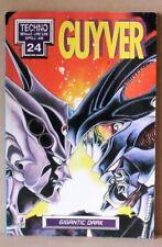 Guyver 24 - techno aprile 1996 - gigantic dark - star comics