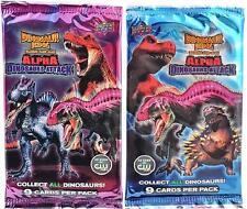 2x ALPHA DINOSAURS ATTACK Dinosuar King TCG BOOSTER PACKS -18 cards - USA Seller