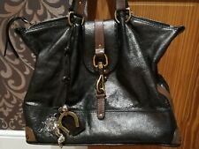 CHLOE 100%Authentic Large Metallic Kerala Leather Handbag
