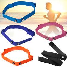 Elastic Chest Belt Strap Fitness Sport Heart Rate Monitor For Garmin Wahoo Polar