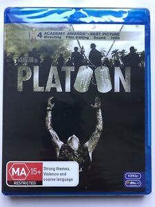 Platoon - Tom Berenger (Blu-ray) Australia Region B- NEW & SEALED