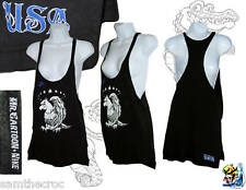NIKE USA Fútbol camiseta sin tirantes para mujer Mr Cartoon Colaboración Negro S