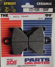 550HF SBS Front Brake Pads for Yamaha RZ350 XJ650 XJ750 XS400 XV250 XV500 XZ550