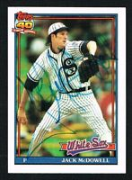 Jack McDowell #219 signed autograph auto 1991 Topps Baseball Trading Card