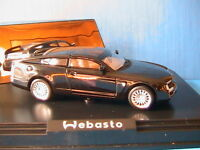 WEBASTO WELCOME 2 CONCEPT CAR NOREV # 880010 1/43 BLACK NOIR VEHICULE MINIATURE