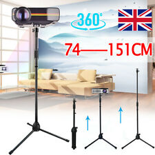 More details for projector stand heavy duty tripod height adjustable 29 to 59