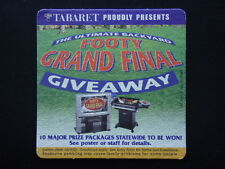 TABARET THE ULTIMATE BACKYARD FOOTY GRAND FINAL GIVEAWAY COASTER