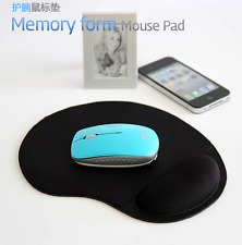 New Gel Mouse Mat Pad With Rest Wrist Comfort Support Laptop PC Anti Slip