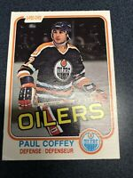 1981-82 O-Pee-Chee Paul Coffey Rookie Card #111 Mint Perfectly centered Opc