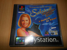 Sabrina The Teenage Witch a Twitch In Time - Sony Playstation 1 Buen Pal ps1