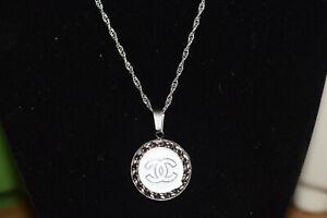 Chanel Button Pendant