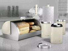 Morphy Richards Accents Cream Bread Bin Kitchen Storage Set 6 Piece 974103 *NEW*