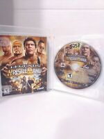 WWE Legends of WrestleMania (Sony PlayStation 3, 2009) Tested  Game and Manual