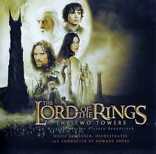 THE LORD OF THE RINGS - THE TWO TOWERS (SOUNDTRACK) / CD - TOP-ZUSTAND