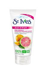St. Ives Radiant Skin Face Scrub, Pink Lemon and Mandarin Orange 6 oz Packaging