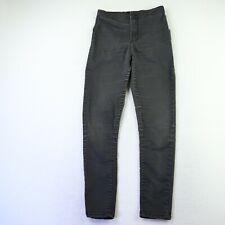 Topshop Moto Black Denim Skinny Jeans Women's Size 28  25W 25L