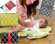 Baby Portable Changing Pad Fold Diaper Clutch Travel Waterproof Mat Storage UK