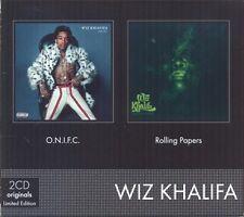 WIZ KHALIFA - O.N.I.F.C./ROLLING PAPERS 2 CD NEU