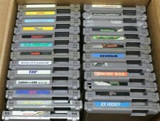 Discounted Nintendo NES Lot Of 25 Games- River City Ransom, RoboCop, Galaga