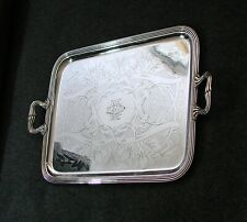 ANTIQUE FRENCH CHRISTOFLE ART NOUVEAU LARGE SERVING TRAY