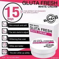 MIMI White Gluta Fresh White Body Cream, Whitening and Skin Smooth 200 ml.