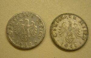 1940 A & G Germany 50 Pfennig Coin Lot
