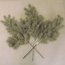 49cm Artificial Snow Covered Pine Sprays x 3 - Christmas Decoration