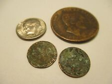 COINS SPAIN 1870's SPANISH EUROPEAN SET OF 3 COLLECTIBLES #719