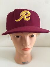 Vintage American Workers LG Trucker Cap 'R' Embroidered 100% Nylon AJD