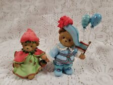 Cherished Teddies Bill & Linda Club Exclusive Strawberry Balloons Ct0093