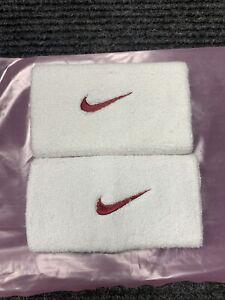 "Lot of 2 NIKE Premier Tennis Wristband Sweatband 5"" Basketball"