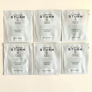 DR. BARBARA STURM Calming Serum Lot Of 6 SAMPLES