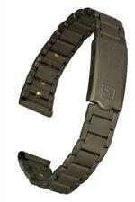 Titan Uhrenarmband für Damenuhr 13 mm Stegbreite Faltschließe Ersatzband