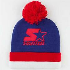 NEW STARTER Cuffed Pom Cap Hat Knit Beanie